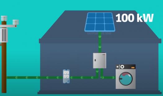 Etapa operando en mi hogar: Sistema solar fotovoltaico